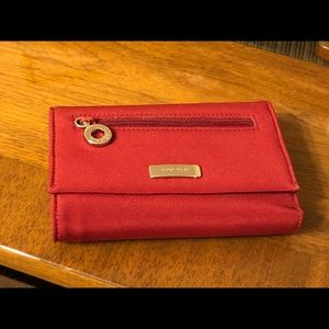 Women's Nine West Burgundy Wallet